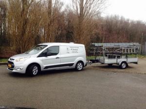 bedrijfswagen Schoonmaakbedrijf P. Janse Nuland